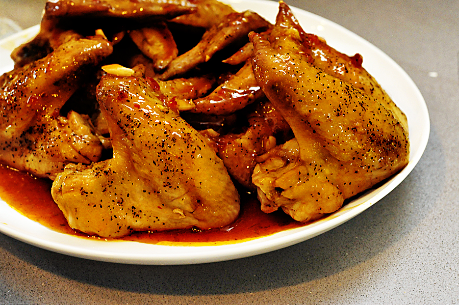 Tasty Kitchen Blog: Sticky Lime Chicken Wings. Guest post by Georgia Pellegrini, recipe submitted by TK member Mike of Verses from My Kitchen.