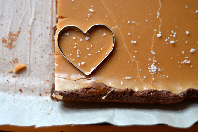 Tasty Kitchen Blog: Looks Delicious! (Fleur de Sel Caramel Brownies, submitted by TK members Neil and Whitney of The Newlywed Chefs)
