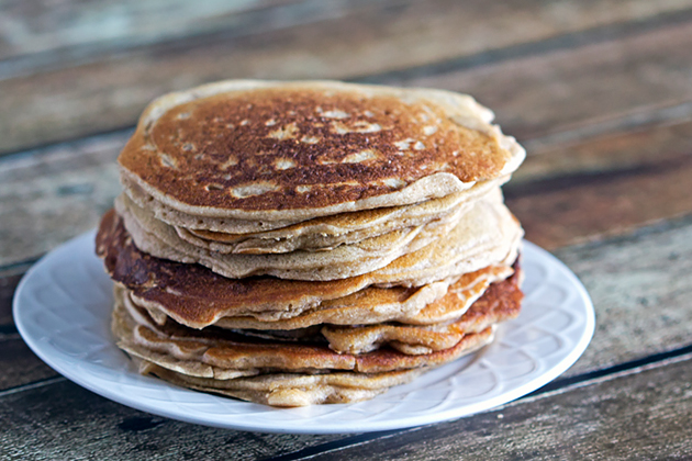 Tasty Kitchen Blog: Looks Delicious! (Gluten-Free Maple Cinnamon Pancakes, submitted by TK member Kimberly Grabinski of What's That Smell?)