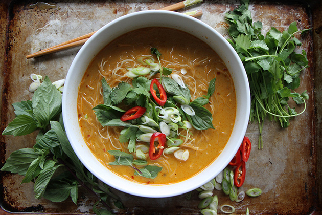 Tasty Kitchen Blog: Looks Delicious! (Spicy Thai Curry Noodle Soup, submitted by TK member Heather of Heather Cooks)