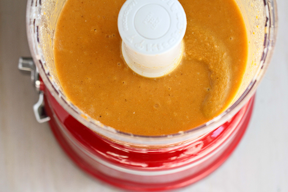 Tasty Kitchen Blog: Coconut Curried Sweet Potato Soup. Guest post by Dara Michalski of Cookin' Canuck, recipe submitted by TK member Jenna of Eat, Live, Run.