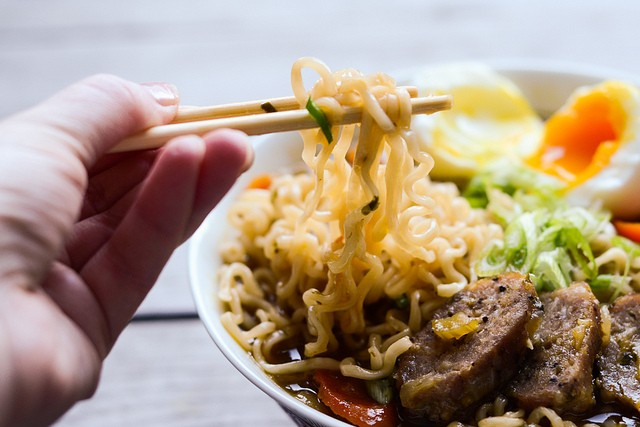 Tasty Kitchen Blog: Ramen Noodle Soup. Guest post by Erica Kastner of Buttered Side Up, recipe submitted by TK member Justine Sulia of Cooking and Beer.