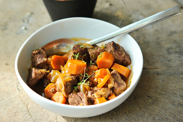 Tasty Kitchen Blog: Red Wine and Herb Beef Stew. Guest post by Georgia Pellegrini, recipe submitted by TK member Anita of Hungry Couple.