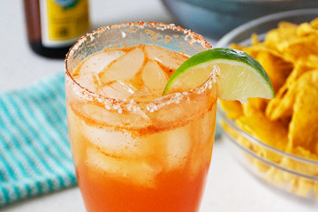 Tasty Kitchen Blog: Looks Delicious! (Perfectly Spicy Michelada, submitted by TK member gingergirlred)