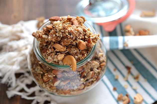Tasty Kitchen Blog: Cookie Butter Granola. Guest post by Megan Keno of Wanna Be a Country Cleaver, recipe submitted by TK member Justine of Cooking and Beer.