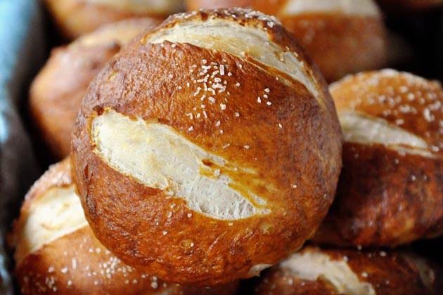 Tasty Kitchen Blog Anniversary Giveaway #5: KitchenAid Mixer (Amazing Soft Pretzel Rolls, submitted by TK member Melanie of Mel's Kitchen Cafe)