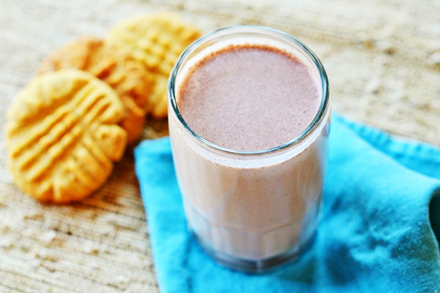 Tasty Kitchen Blog: 5 Years and a Blendtec Giveaway (Chocolate Hazelnut Milk, submitted by TK member Three Many Cooks)