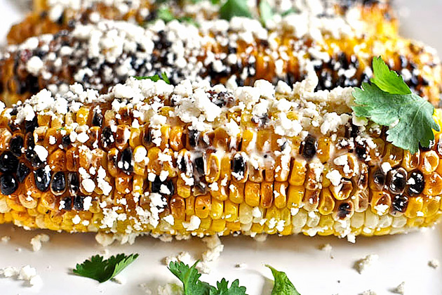 Tasty Kitchen Blog Anniversary Giveaway #2: Grilling Tools (Grilled Corn with Bacon Butter and Cotija Cheese, submitted by TK member Jessica of How Sweet It Is)