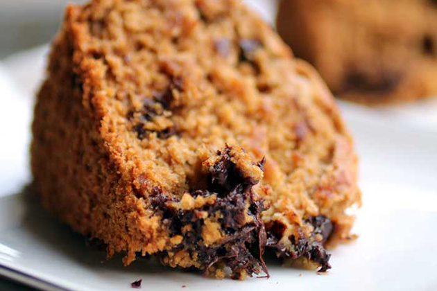 Tasty Kitchen Blog Anniversary Giveaway #4: Food Processor (Gluten Free Oat Flour Chocolate Chip Banana Bread, submitted by TK member Erika of The Pancake Princess)