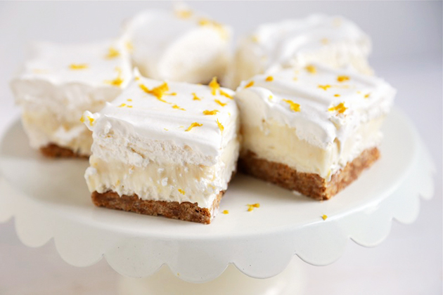Tasty Kitchen Blog: Lemon Icebox Delight. Guest post by Megan Keno of Wanna Be a Country Cleaver, recipe submitted by TK member Tonya of 4 Little Fergusons.