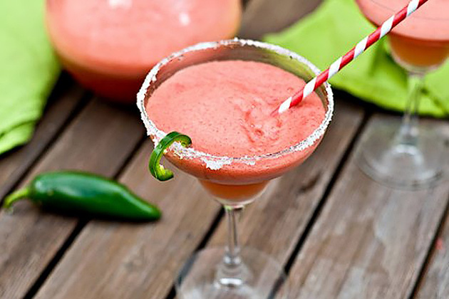 Tasty Kitchen Blog: 5 Years and a Blendtec Giveaway (Watermelon Jalapeno Margaritas, submitted by TK member Jackie Dodd)