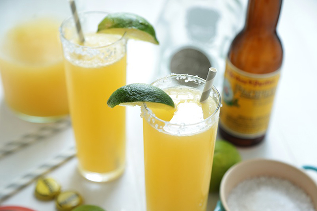 Tasty Kitchen Blog: Cerveza-garita. Guest post by Megan Keno of Wanna Be a Country Cleaver, recipe submitted by TK member Lindsay of Eating 80/20.