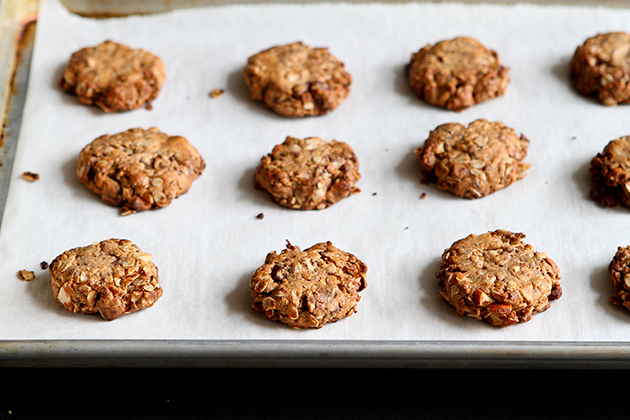 Tasty Kitchen Blog: Chocolate-Dipped Tahini Cookies. Guest post by Dara Michalski of Cookin' Canuck, recipe submitted by TK member Norma of Allspice and Nutmeg.