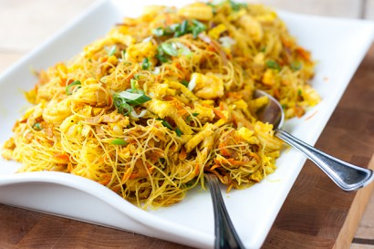 Singapore Noodles Singapore Mei Fun Tasty Kitchen Blog