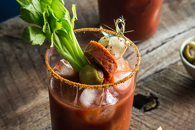 Tasty Kitchen Blog: Looks Delicious! (Bloody Mary Bar, submitted by TK member Emily Caruso of Jelly Toast)