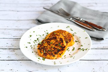 Tasty Kitchen Blog: Sweet Potato Tuna Patties. Guest post by Dara Michalski of Cookin' Canuck, recipe submitted by TK member Olivia of Primavera Kitchen.