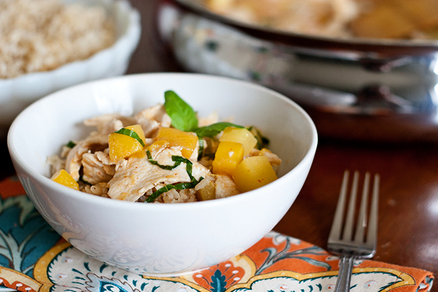 Tasty Kitchen Blog: Tropical Thai Chicken Curry. Guest post by Natalie Perry of Perry's Plate, recipe submitted by TK member Anetta of The Wanderlust Kitchen.