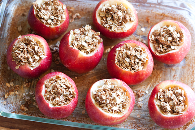 Tasty Kitchen Blog: Baked Apples. Guest post by Natalie Perry of Perry's Plate, recipe submitted by TK member Laura of My Friend's Bakery.