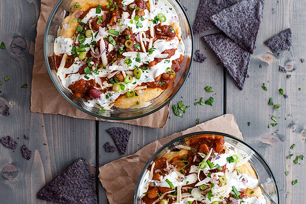 Super bowl food tasty kitchen blog tasty kitchen blog looks delicious super bowl food meatless mexican chili and cheddar forumfinder Gallery