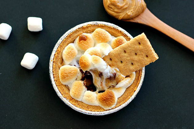 Tasty Kitchen Blog: Looks Delicious! (Peanut Butter S'mores Dip, submitted by TK member Gayle of Pumpkin 'N Spice)