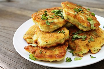 Tasty Kitchen Blog: Zucchini Blossom Fritters. Guest post by Georgia Pellegrini, recipe submitted by TK member Katie of The Parsley Thief