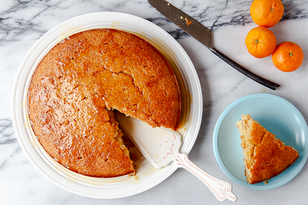 Tasty Kitchen Blog: Whole Wheat Clementine Yogurt Cake. Guest post by Christina of Dessert for Two, recipe submitted by TK member Stephanie of Girl Versus Dough.