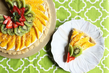 Tasty Kitchen Blog: Looks Delicious! (Spring Fruit Cookie Pizza, submitted by TK member Tiffany of This Season's Table)
