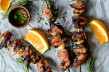 Tasty Kitchen Blog: Looks Delicious! (Apricot and Orange Pork Skewers with Garlic and Rosemary, submitted by TK member Justine of Cooking and Beer)