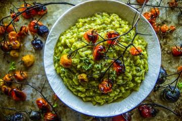 PWFF Spinach Basil Pesto Risotto TK
