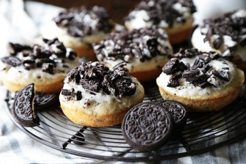 Tasty Kitchen Blog: Cookies and Cream Donuts. Guest post by Megan Keno of Wanna Be a Country Cleaver, recipe submitted by TK member Heather Christo.