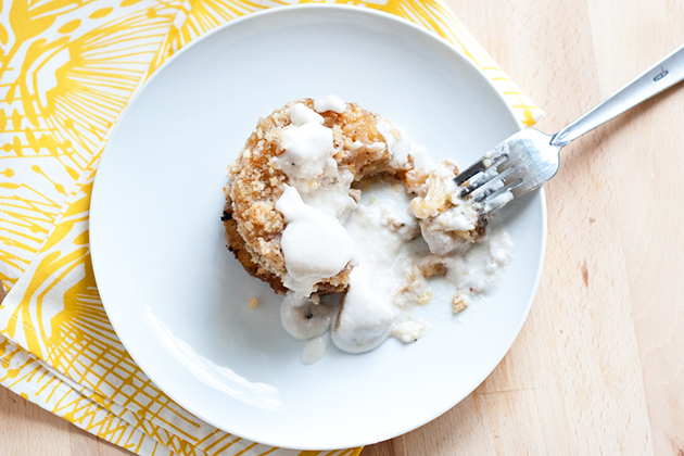 Tasty Kitchen Blog: Grilled Macadamia-Crusted Pineapple with Coconut Cream. Guest post by Natalie Perry of Perry's Plate, recipe submitted by TK member Taylor Kiser of Food Faith Fitness.