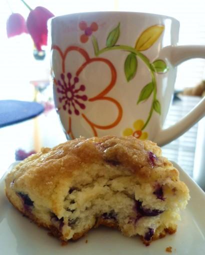 Tasty Kitchen Blog: Blueberry Streusel Scones