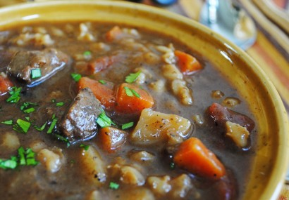 Beef and barley soup swap