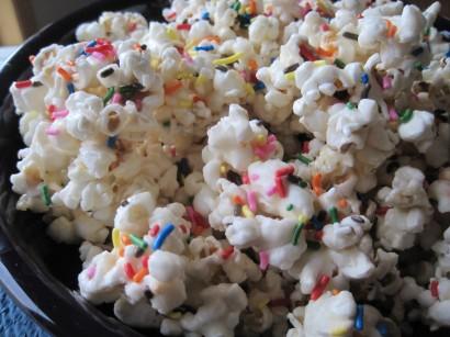 Birthday Cake Popcorn Tesco