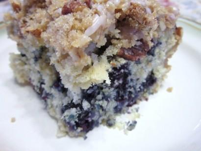 Apple blueberry kuchen